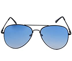 Petrol Blue Aviator Sunglasses for Men - PN3026BU