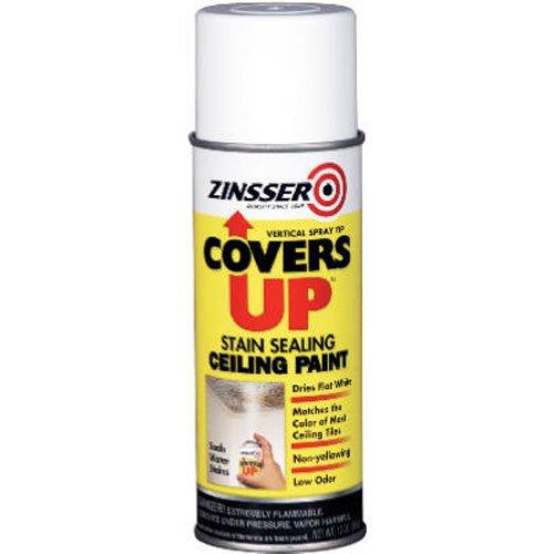 Rustoleum 13 oz blanc couvre plafond sceller stain peinture 03688 - Retouche peinture plafond ...