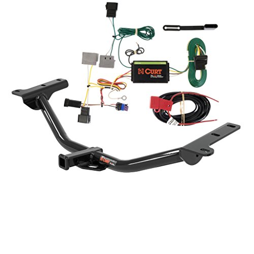 CURT Class 2 Trailer Hitch Bundle with Wiring for 2011-2016 Dodge Journey - 12134 & 56154 (Trailer Hitch For Dodge Journey compare prices)