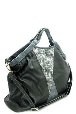 Designer Handbags - MIRACLE ZONE TOTE BAG - By Fashion Destination | (Black) Free Shipping