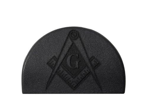 Masonic Calipers Masonry Mason Engraved NDZ P2 Grip Slug Plug for Glock 26 27 28 33 39 GEN 1-3 by NDZ Performance (Glock 27 Plug compare prices)