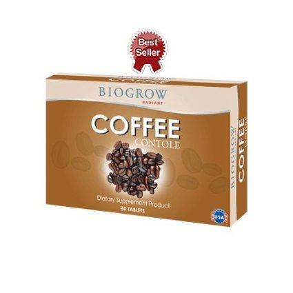 Biogrow Coffee Contole 30 Tabs.