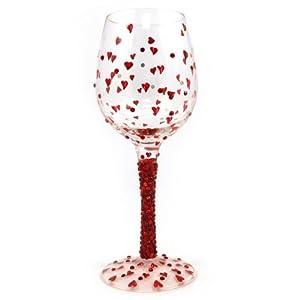 Amazon.com | Lolita- Wine Glass - Red Hot Design With