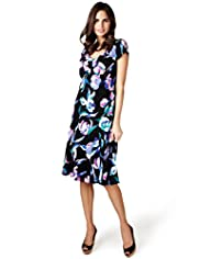 Per Una Floral Fit & Flare Skater Dress