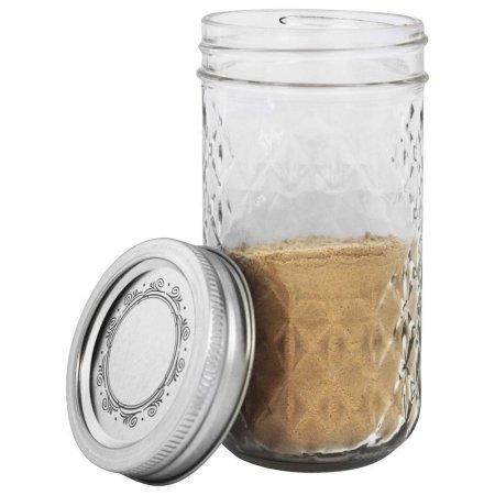 Quilted Crystal Jelly Jars (Quilted Canning Jars compare prices)
