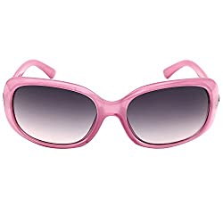 Eyeland Non-Polarized Oval Sunglasses (Pink, EYE168)