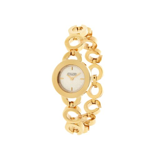 Coach 'Kristy' Signature C-link Gold-tone Women's Bracelet Watch 14501312