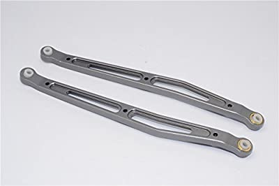 GPM RACING YT014R-GS ALUMINIUM REAR UPPER CHASSIS LINK PARTS - 1PR SET 1/10 RC AXIAL RACING YETI Buggy Truck