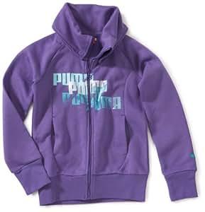 Puma Sweat Jacket 817464-2 Fille Sweat Avec Capuchon Fitness Violet