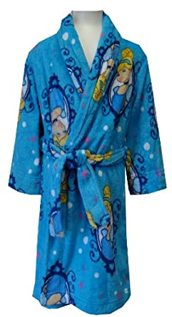 Disney Princess Cinderella Blue Plush Robe for girls (7/8)