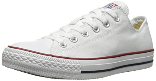 Converse Chuck Taylor All Star Low Top Optical White M7652 Mens 7.5