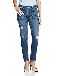 Superdry Women's Boyfriend Jeans (G70000VNF1.L32_Vintage Lagoon Wash_26)