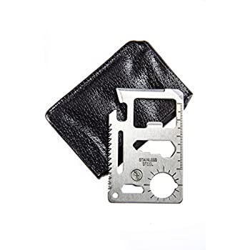 SE MT908-1 11-Function Stainless Steel Survival Pocket Tool