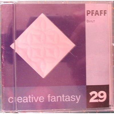 Amazon Com Pfaff Quilt Creative Fantasy Embroidery Card