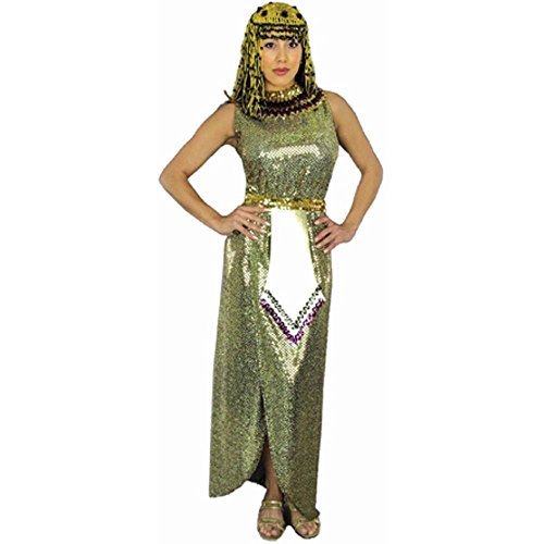 Adult Gold Sequin Cleopatra Costume (Sz: XL 14-16)