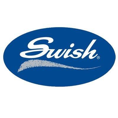 Swish - Lot de 5 supports de fixation Twinglyde / Nylonglyde - blanc