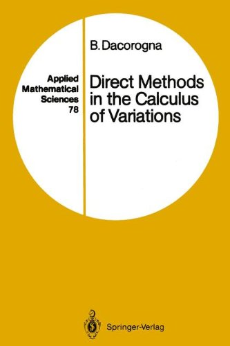 Direct Methods in the Calculus of Variations (Applied Mathematical Sciences)