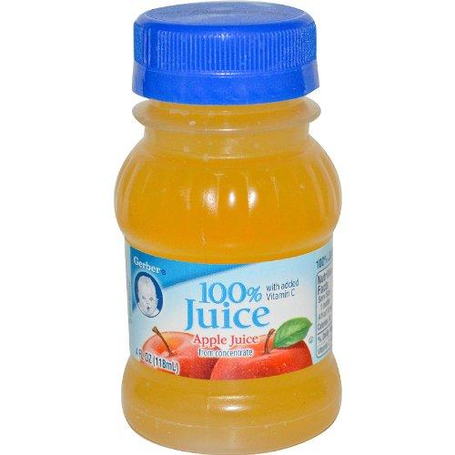 Gerber, Apple Juice, 4 fl oz (118 ml)