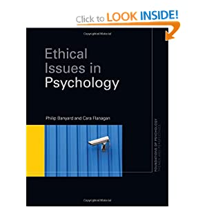 the importance of ethical issues in psychology The american board of clinical psychology (abcp) is a member board of the american board of professional psychology (abpp) the abpp oversees and authorizes the.