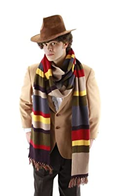 Elope Doctor Who Fourth Doctor Scarf from elope