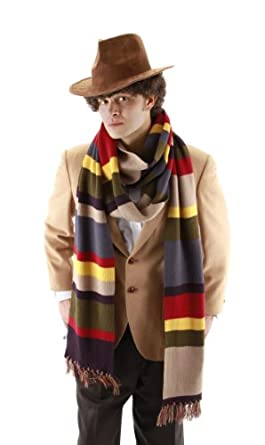 Elope Doctor Who Fourth Doctor Scarf, Multicolor, 6 Foot