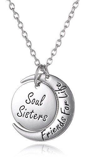 soul-sisters-friends-for-life-plateado-collar-para-best-friends-forever-besties-bff