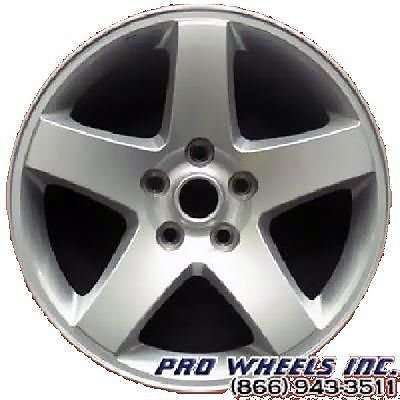 "Dodge Challenger Charger Magnum 17X7"" Silver Factory Original Wheel Rim 2325"