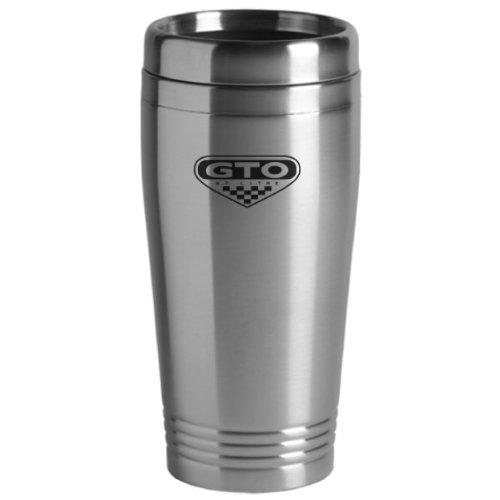 Pontiac GTO Travel Mug Silver (Pontiac Glass compare prices)