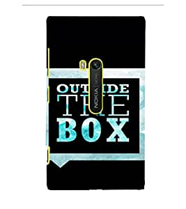 EPICCASE Think out of the box Mobile Back Case Cover For Microsoft Lumia 920 (Designer Case)