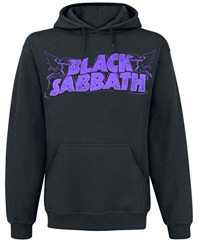 Black Sabbath Lord Of This World Felpa con cappuccio nero L