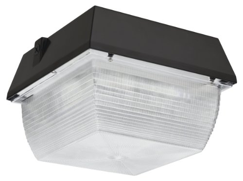 Lithonia Vrc Led 1 50K Mvolt M6 Canopy/Ceiling Led Light, Dark Bronze