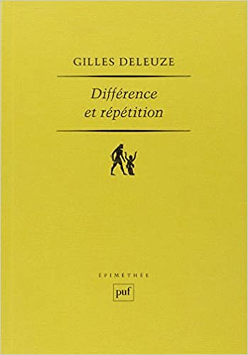 deleuze difference and repetition online dating