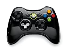 【Amazon.co.jp限定】Xbox 360 ワイヤレス コントローラー SE(クローム ブラック)(期間限定価格)