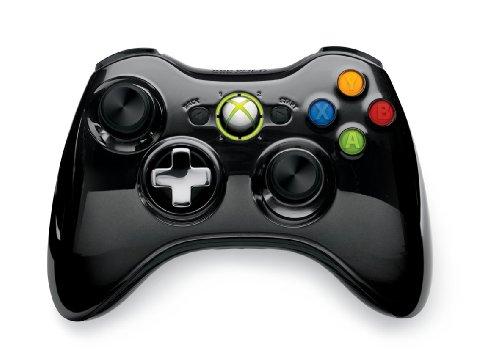 【Amazon.co.jp限定】Xbox 360 ワイヤレス コントローラー SE(クローム ブラック)