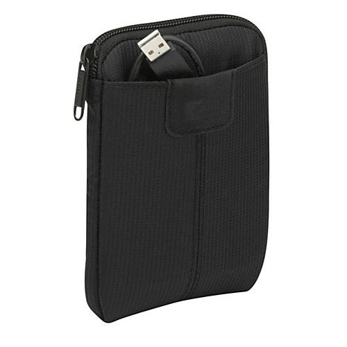 Case Logic VHS-101 Portable Hard Drive Case (Black)
