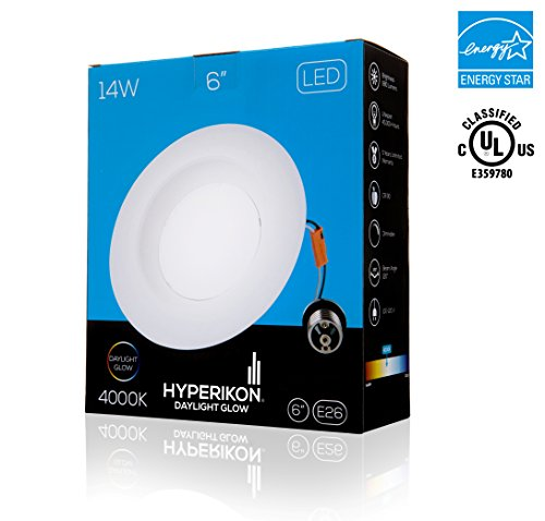 Hyperikon 174 6 Inch Led Downlight Energy Star 174 14w 75w