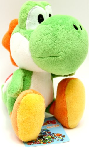 Buy Low Price Japan VideoGames Super Mario Plush – Yoshi Island – 5.5″ – Green Figure (B000S0IACM)