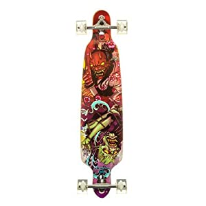 Punisher Skateboards ONI Professional Drop Down Complete Longboard Skateboard with Mild Concave, 40-Inch