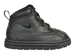Nike Woodside (TD) Baby Toddlers Boots Black Black 415080-001-5.5