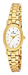 Titan Karishma Analog White Dial Womens Watch - NE2061YM05