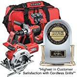 Craftsman Professional 26325 20-vlt Lithium-Ion Cordless 3-Tool Combo Kit Drill-Driver/Circular Saw/LED Worklight