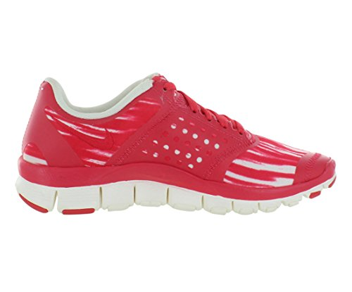 pictures of Women's Nike Free 5.0+ Print Running Shoes Sail/Fusion  Red/Atomic