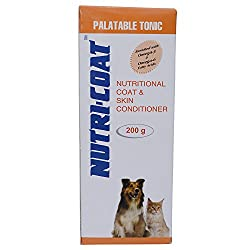 Petcare NUTRI_COAT Nutritional Coat and Skin Conditioner (200 gm)