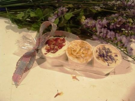 Pack of 3 Luxury Essential Oil and Shea Butter Bath Indulgences Lavender, Rose, Lemongrass & Lime