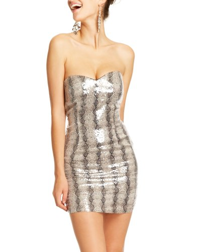 2b Lana Printed Sequin Dress