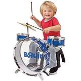 Bruin Preschool My First Blue Drum Set