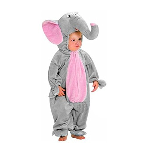 Hotshopping Lovely Elephant Design Cosplay Clothes Halloween Baby Costume (2 Years Old(Bust 31.5'' Length 29''))