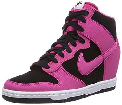 Nike Dunk Sky Hi Mesh, Chaussures de Basketball Femme