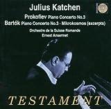 Prokofiev: Piano Concerto No. 3; Bartok: Piano Concerto No. 3; Mikrokosmos (excerpts)