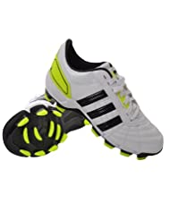Adidas 118 Firm Ground Rugby Boots - White - G41622